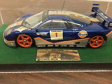1:18 1:24 McLaren F1 GTR #1 1995 Gulf Racing Global Endurance Championship