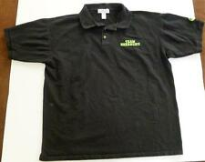 TEAM HERBALIFE SHAKE MEN'S XL COLLARED SHIRT BUSSINESS PROMOTION BLACK