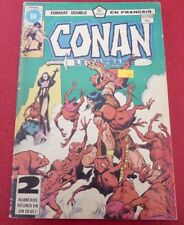 Soft Cover French Héritage Comic Book Conan Le Barbare No.107/108