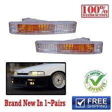 JDM Replacement Bumper Park Turn Signal Light lamp 1990 1991 Honda Civic SH4 EF2