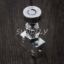 Silver Brake Proportion Adjustable Prop Valve Brake Bias Adjuster Knob Type