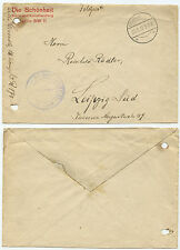 34649 - Feldpostbrief - 23.11.1917 nach Leipzig-Süd - ohne Inhalt
