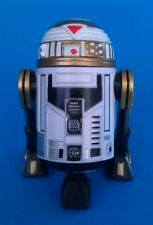 Star Wars 2015 Disney BAD Build a Droid Factory White Gold Black R7 Imperial Hat