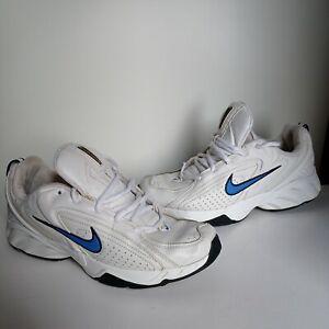 Vintage White  Nike  leather - 2005 mens Uk 7  Us 8  Eur 41 26cm