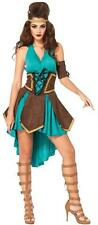 CELTIC WARRIOR PRINCESS ADULT HALLOWEEN COSTUME WOMEN'S SIZE SMALL/MEDIUM