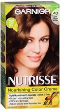 Nutrisse Haircolor - 43 Cocoa Bean (Dark Golden Brown) 1 Each