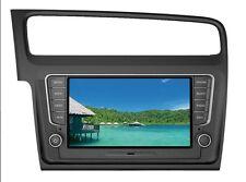 "Golf VII Media Station TFT-LCD Grey Deckless Navigation DVD Receiver panel 8"""