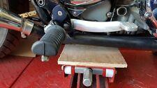 TRIUMPH BONNEVILLE FOOTREST LOWERING PLATE'S,( Air Cooled Bike's ONLY)