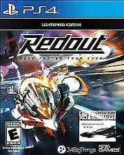 PS4 Redout Lightspeed edition. Race Faster than Ever. Brand New. Free Shipping