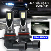 9006 LED Fog Driving Light Bulb DRL White Fit Nissan Murano (With HID) 2007-2003