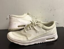 Nike Air Max Thea Girl Running Shoes 6Y US, 5.5UK,38.5EUR. White. 814444-100