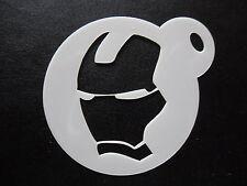 Taglio laser piccoli MASCHERA DI FERRO DESIGN CAKE, biscotti, Face Painting & Craft Stencil