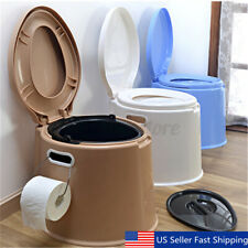 5 Color Portable Toilet Seat Travel Camping Hiking Outdoor Indoor Potty Commode