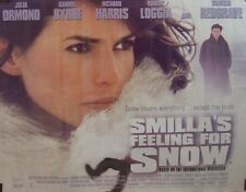 Julia Ormond SMILLAS FEELING FOR SNOW(1997)Original rolled UK quad movie poster
