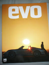 Evo No 140 Feb 2010 911 Turbo vs Nissan GTR vs R8 V10, CLK DTM AMG, Hyena