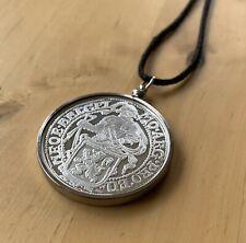Netherlands 1oz .999 Fine Silver Restrike Pendant Necklace Handmade