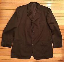 Vanetti Men's 2 Piece Brown 4 Button Suit