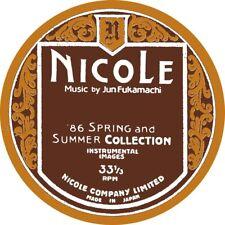 JUN FUKAMACHI - NICOLE (86 SPRING AND SUMMER C   VINYL LP NEU