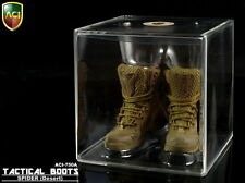 "ACI Model Toy 1:6 Scale Spider ( Desert) Tactical Boots For 12"" Male Figure Body"