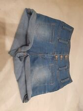 New look Yes Yes High waist Ladies Denim Shorts Size 10