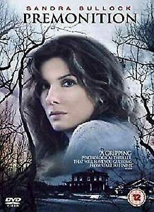 Premonition DVD Sandra Bullock Movie - 2007 Psychological Thriller