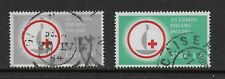 IRELAND 1963 RED CROSS CENTENARY SET USED SG197/98