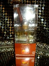 Yankee Candle Reed Diffuser Spiced Pumpkin Whopping 1.2 Fl Oz W/ 10 Reeds Nib