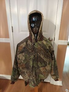 Duxbak Camoflauge Insulated Jacket Size XL