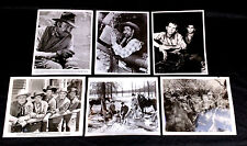 Rare Western Television & Movie Prints Sheb Wooley Robert Lowery Michael Landon