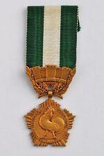 Médaille des Collectivités Locales, bronze doré