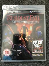 PlayStation 3: Resident Evil: Operation Raccoon City (Factory Sealed) UK PAL PS3