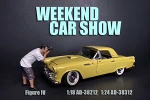 WEEKEND CAR SHOW FIGURE IV AMERICAN DIORAMA 38312 1/24 scale Figurine