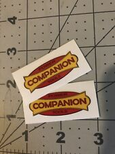 Companion Sears Power Tools Decal 1 7/8� 2 for 1 reproduction
