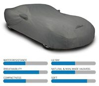 Coverking Triguard Car Cover - Good for both Indoor/Outdoor use - Gray