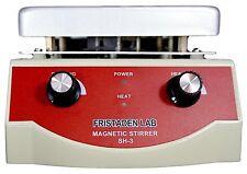Fristaden Lab SH-3 Magnetic Stirrer Hot Plate, 3,000mL, 100~1600rpm, 500W, 350°C