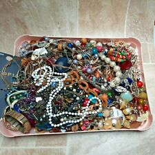 3.6 KG Costume Jewellery Mixed Job Lot Bundle Craft Harvest WEAR RESELL Necklace