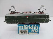 MES-44237Märklin 3050 H0 E-lok SBB 11414 Ae6/6 mit minimale Gebrauchsspuren,