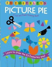 Ed Emberley's Picture Pie: A Cut and Paste Drawing Book, Paperback, NEW, c2006
