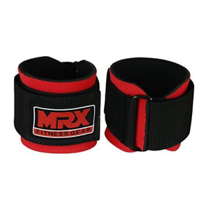 MRX Weight Lifting Wrist Wraps for Wrist Support RED