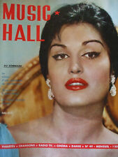 revue music hall dalida alain delon freres jacques Distel  N°49 mars 1959
