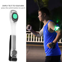 Reflective Safety Belt Arm Strap LED Light Armband for Night Running Green