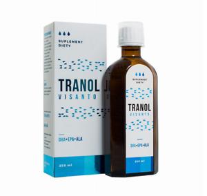 Visanto Tranol 250ml, DHA+EPA+ALA Jerzy Zieba, FREE P&P