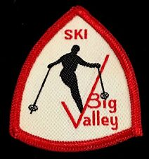 BIG VALLEY Lost Ski Area 1969-80s Skiing Patch Hahn Mt Pennsylvania PA Travel