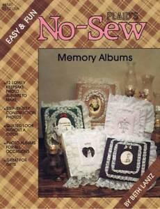 Plaid's No Sew Memory Albums Scrapbook Photos