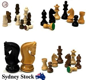 AMBRIZZOLA Wooden Chess Pieces (Variations based on: Model, Size & Colour)
