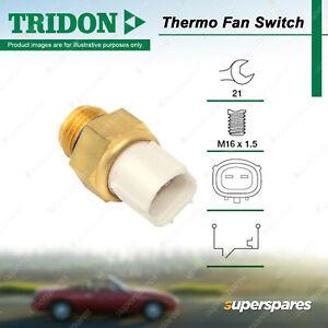 Tridon Thermo Fan Switch for Mitsubishi Magna Mirage Nimbus RVR Starwagon Verada