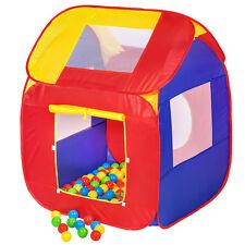 Tenda giochi per bambini + 200 Palle POP-UP gioco Piscina di Palline Playhouse