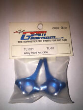 GPM Racing TL1021 - Tamiya TL-01 Alloy Front Knuckles - New In Bag!