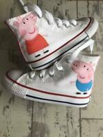 Peppa Pig George Kids Custom Converse Shoes Character Personalised Shoes