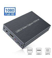 GOODAN Video Capture Card, 4K HDMI to USB 3.0 HD Game Video Capture Card 1080P